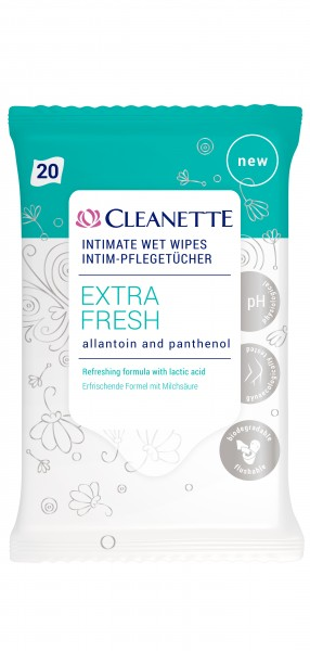 Cleanette Intim-Pflegetücher 3x 20 Stück