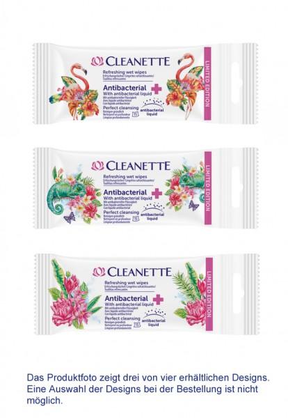 Cleanette Erfrischungstücher 3x 15 Stück