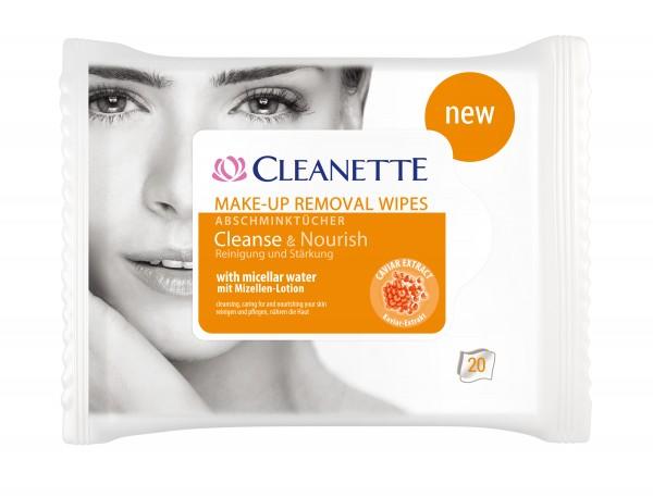 Cleanette Abschminktücher 3x 20 Stück