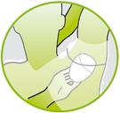 Schweißpads Gebrauchsanweisung Schritt 3